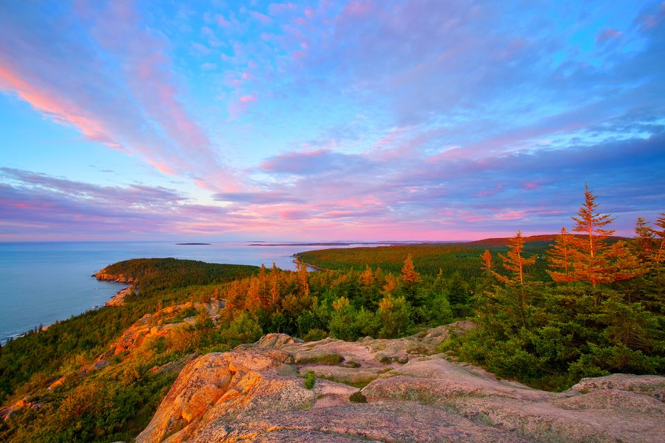 Gorham Mountain in Acadia National Park, Bar Harbor, Maine