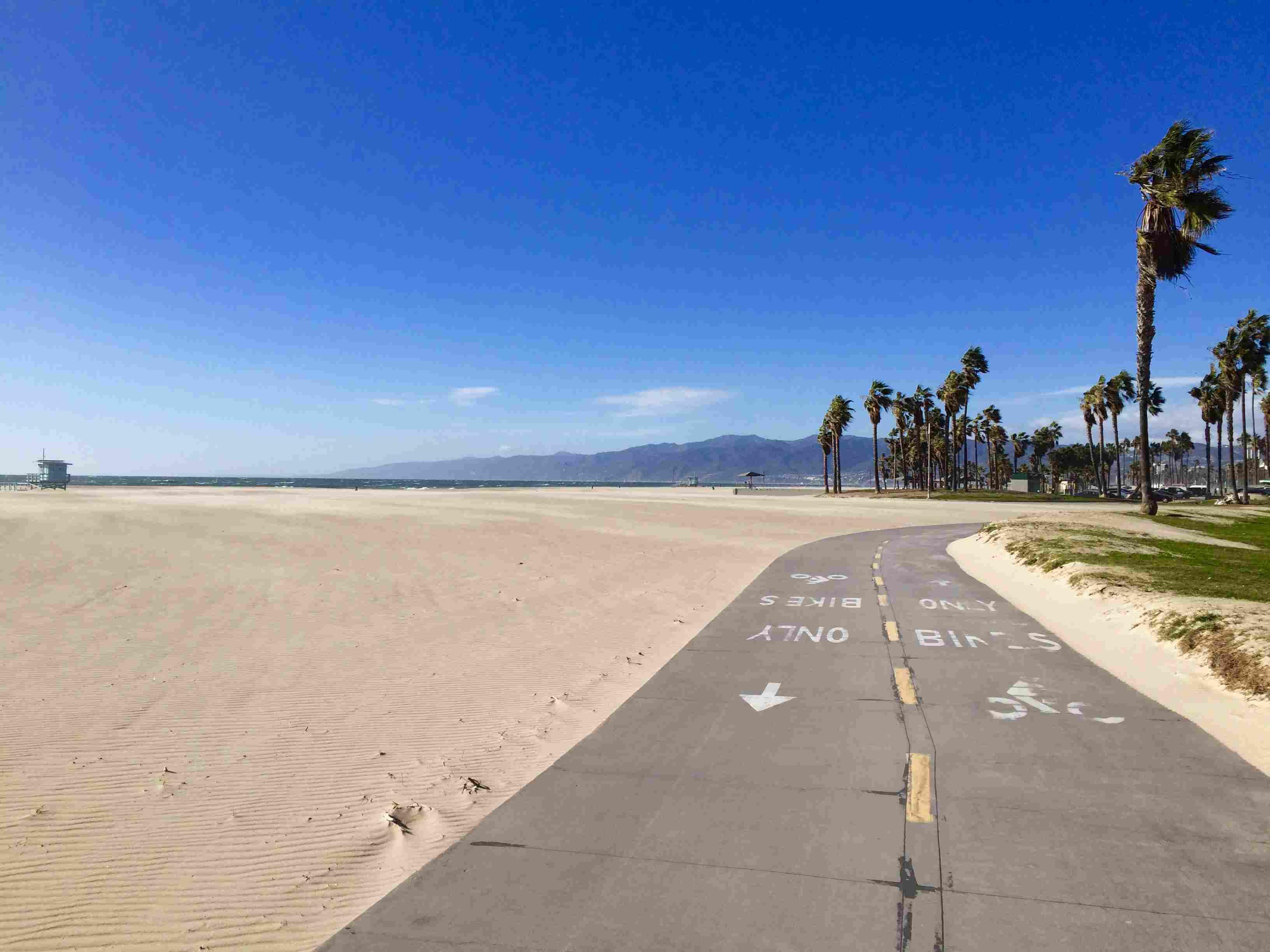 Venice Beach (Los Angeles County), California Bike Path