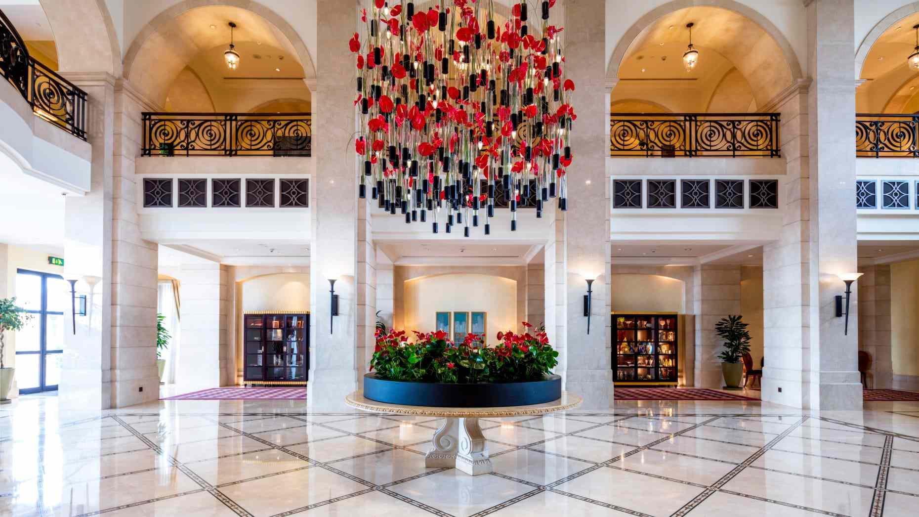 Lobby to Four Seasons Hotel Amman