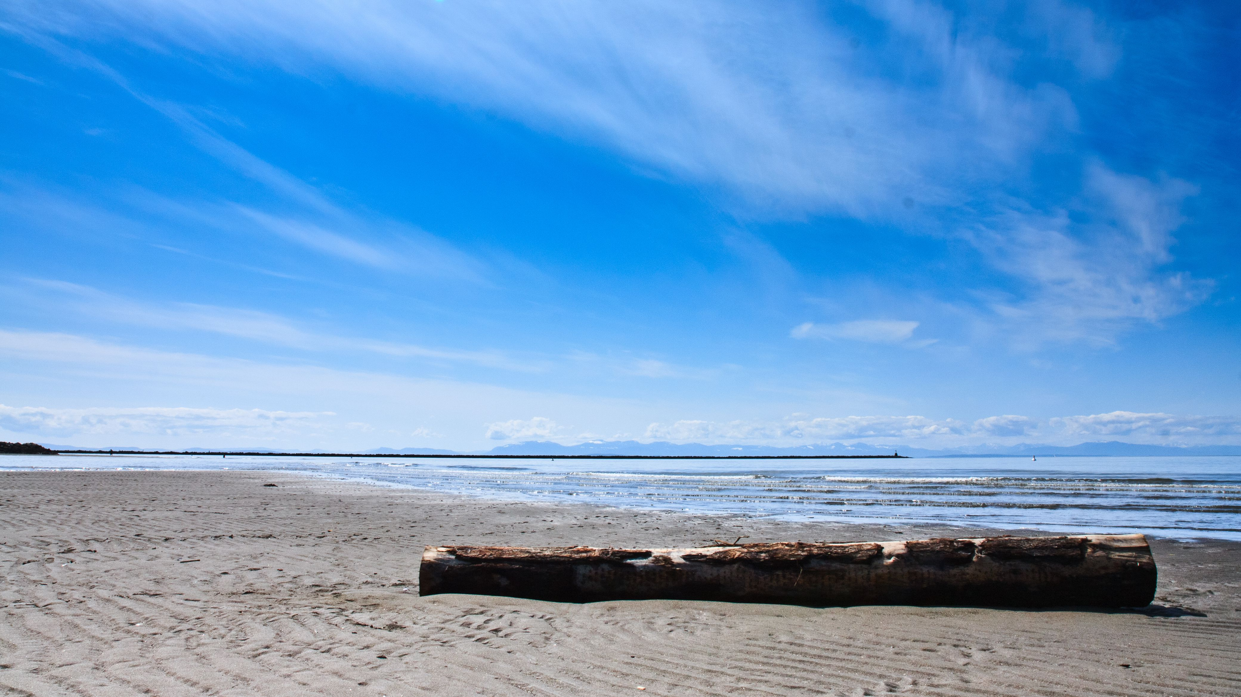 Wreck Beach in Vancouver, BC, Canada