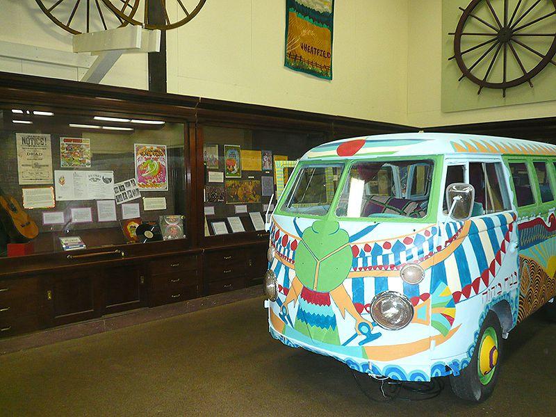 Counterculture Exhibit in Lane County Historical Museum in Eugene Oregon (Angela M. Brown)
