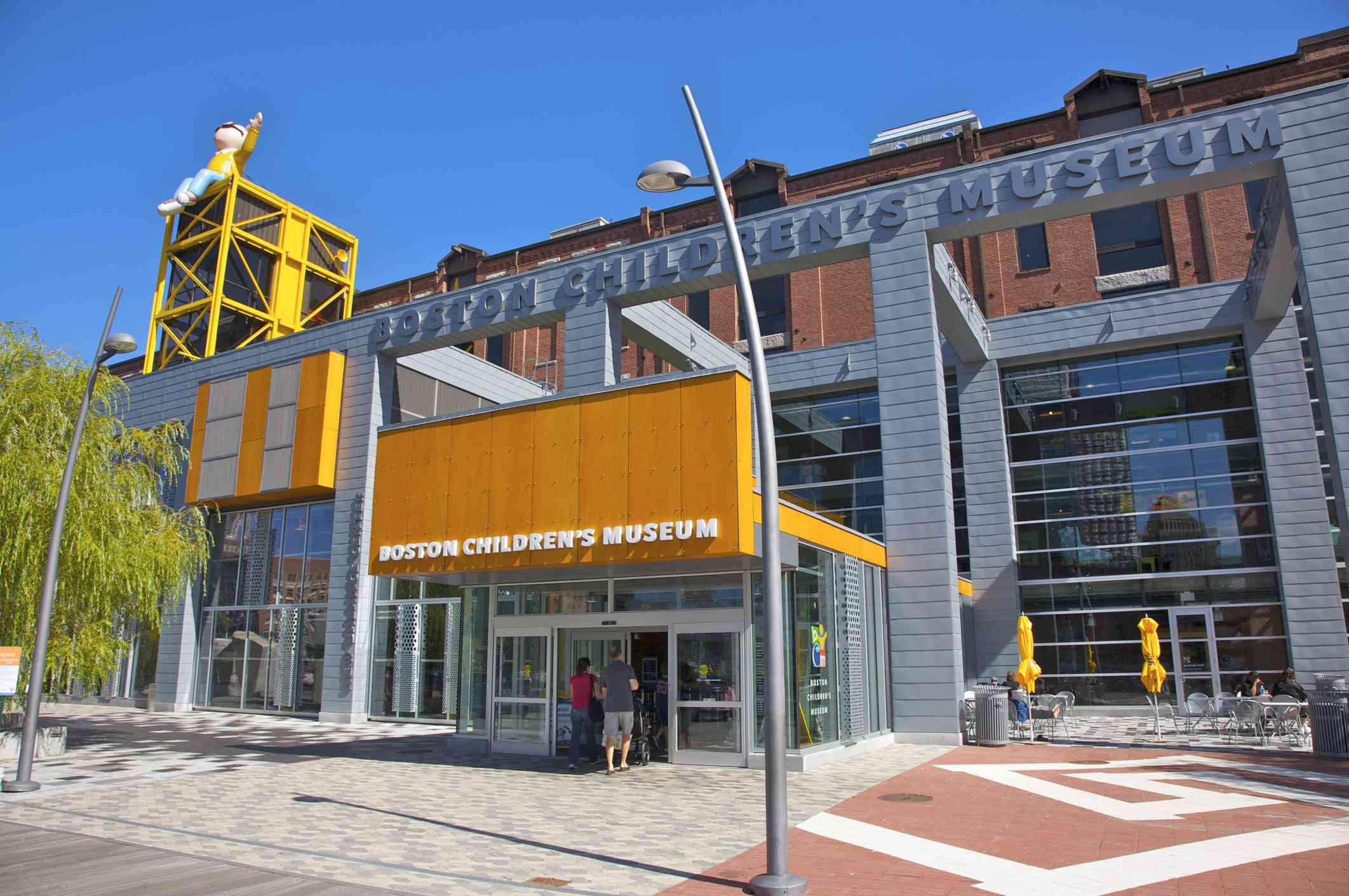 exterior of Boston Children's musuem