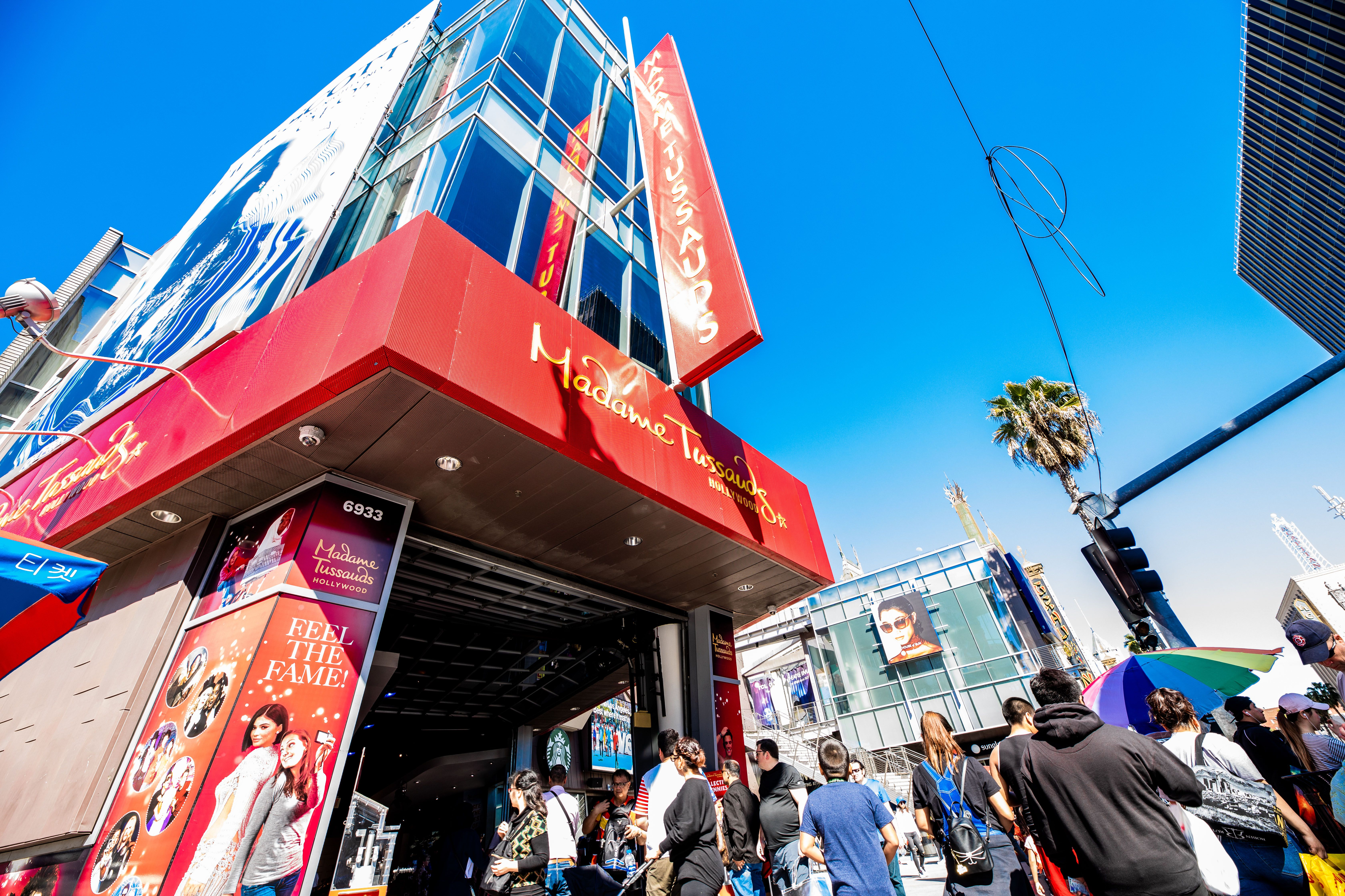 Exterior of the Madame Tussaud's