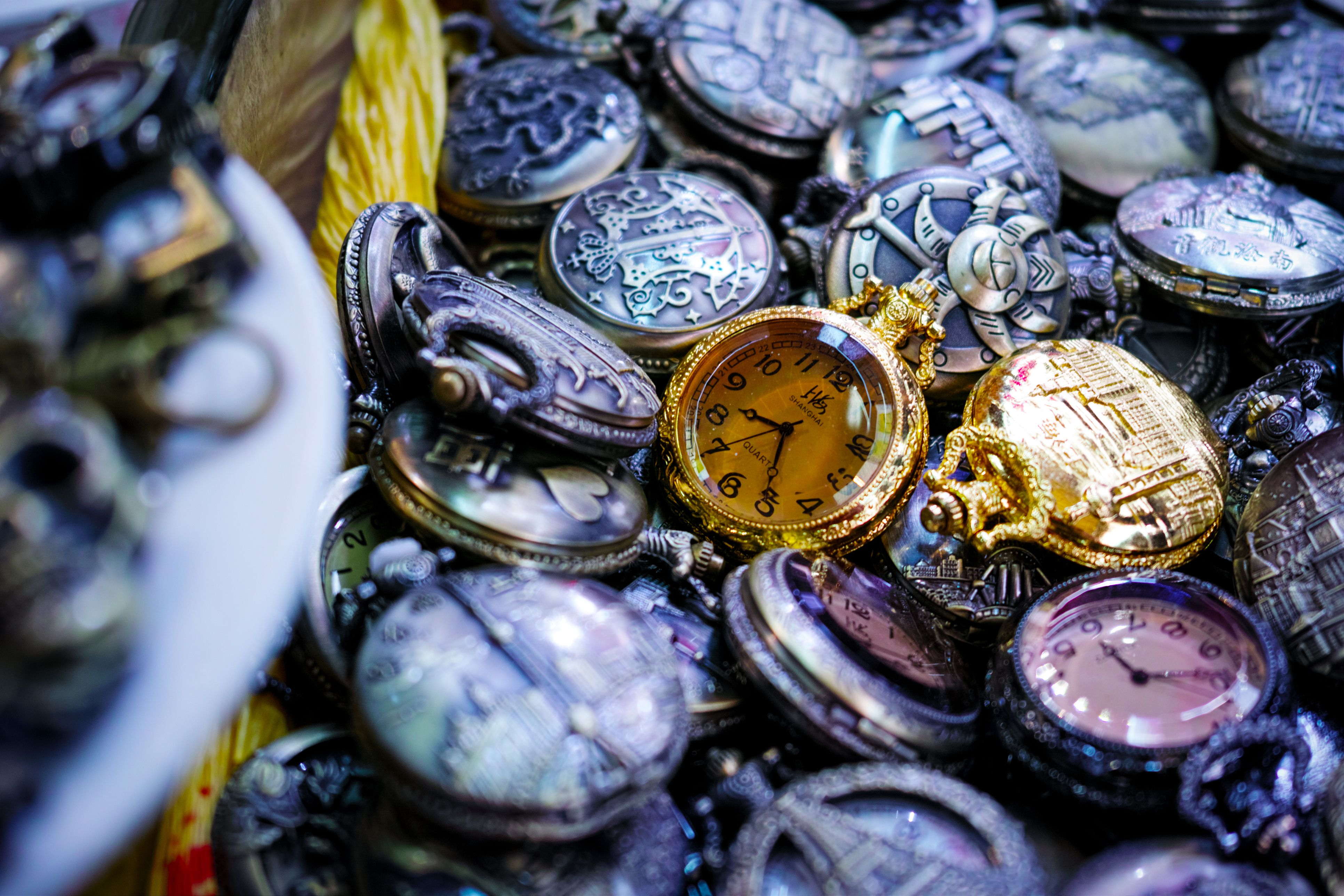 antique pocket watches, Shanghai