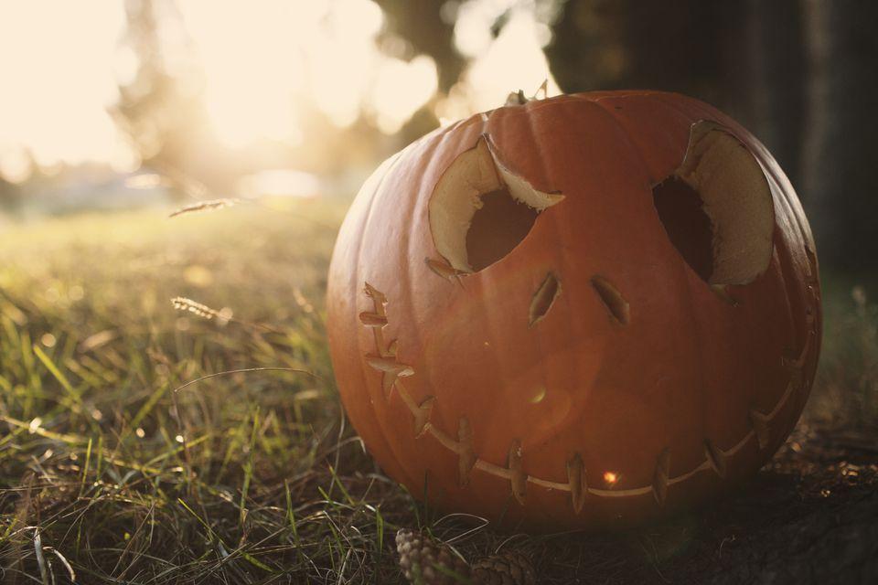 Feliz Halloween en el campo
