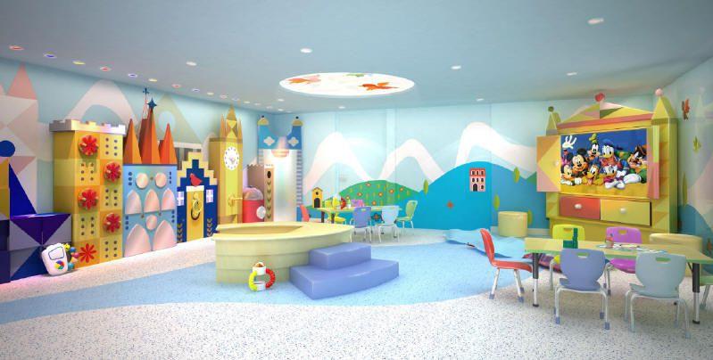 It's A Small World Nursery - Photo courtesy of Disney Cruise Line.