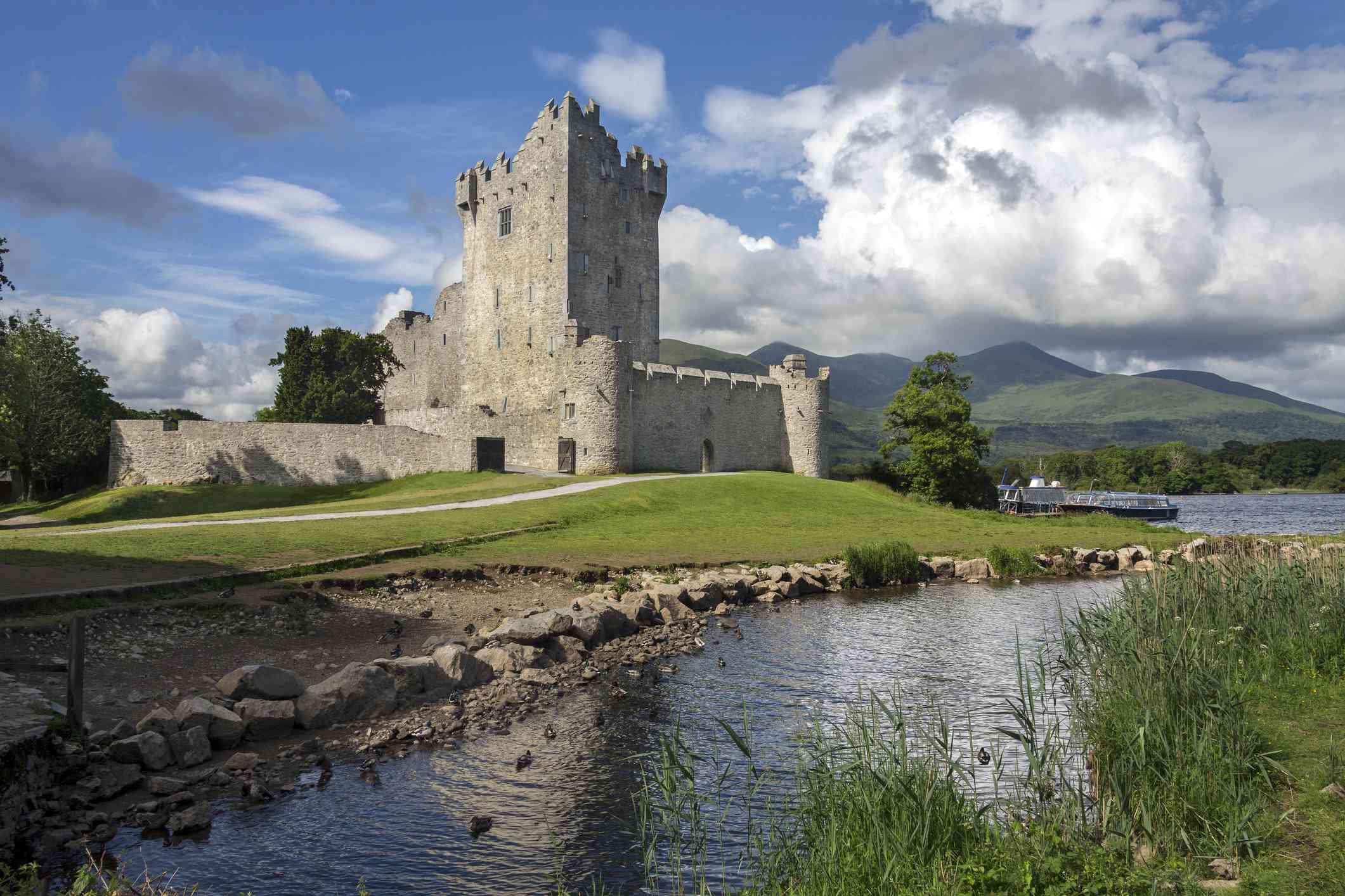 Ross Castle - Killarney - Republic of Ireland