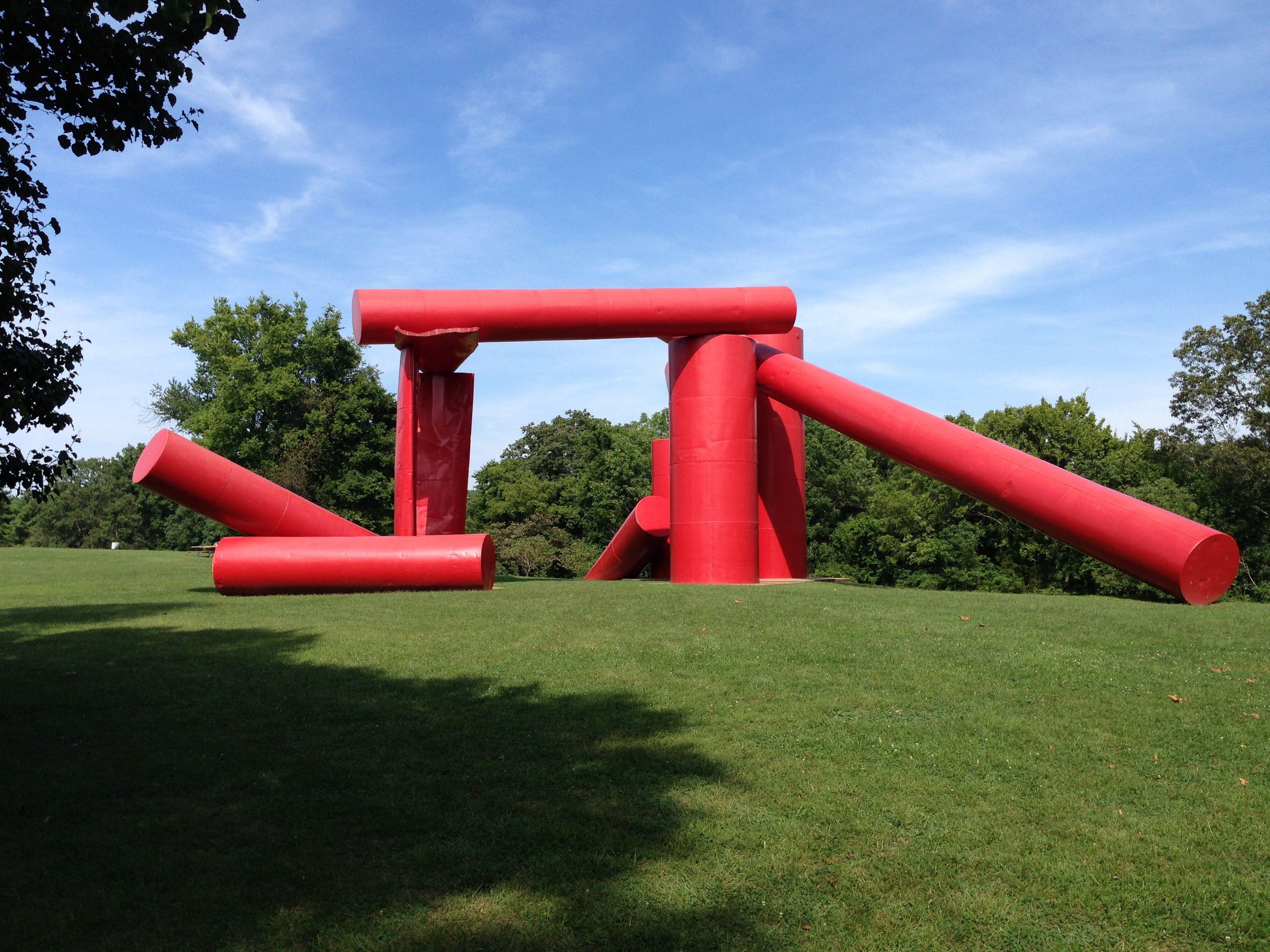 Laumeier Sculpture Park in St. Louis County