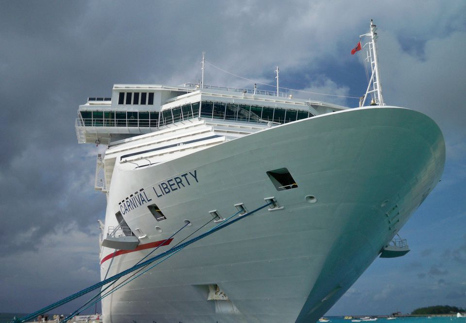 Carnival Liberty in port at Grand Turk