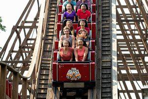 The Beast coaster Kings Island
