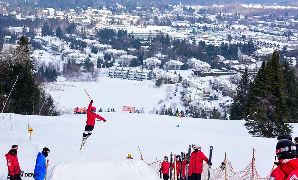 Best Ski Resorts in the Montreal, Quebec Area Quebec Ski Resorts Map on