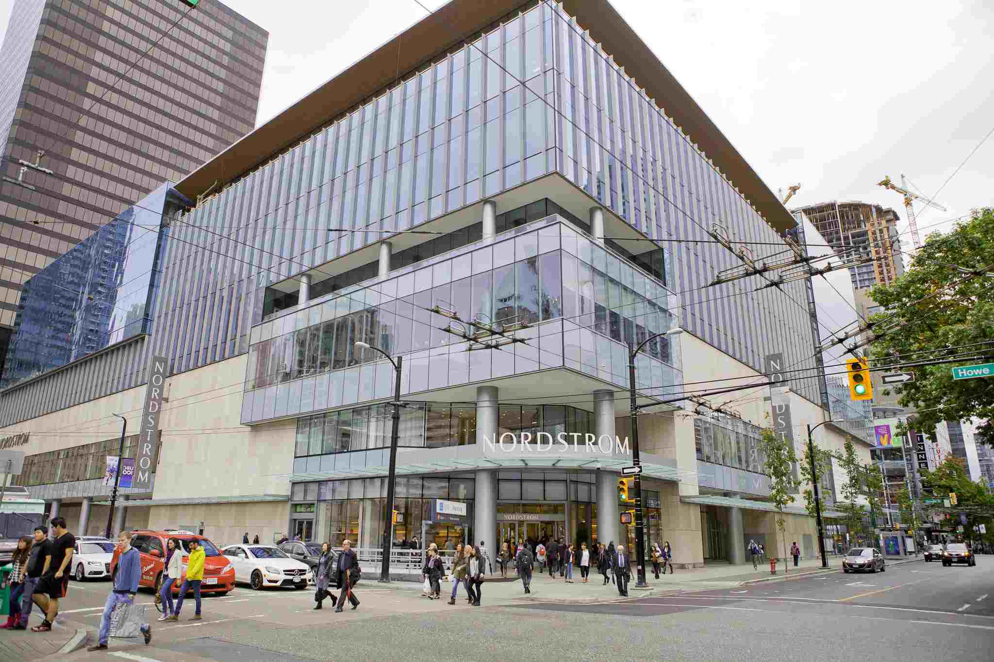 Nordstrom Pacific Centre in Vancouver