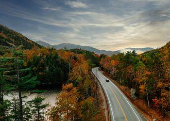Driving NY Adirondacks