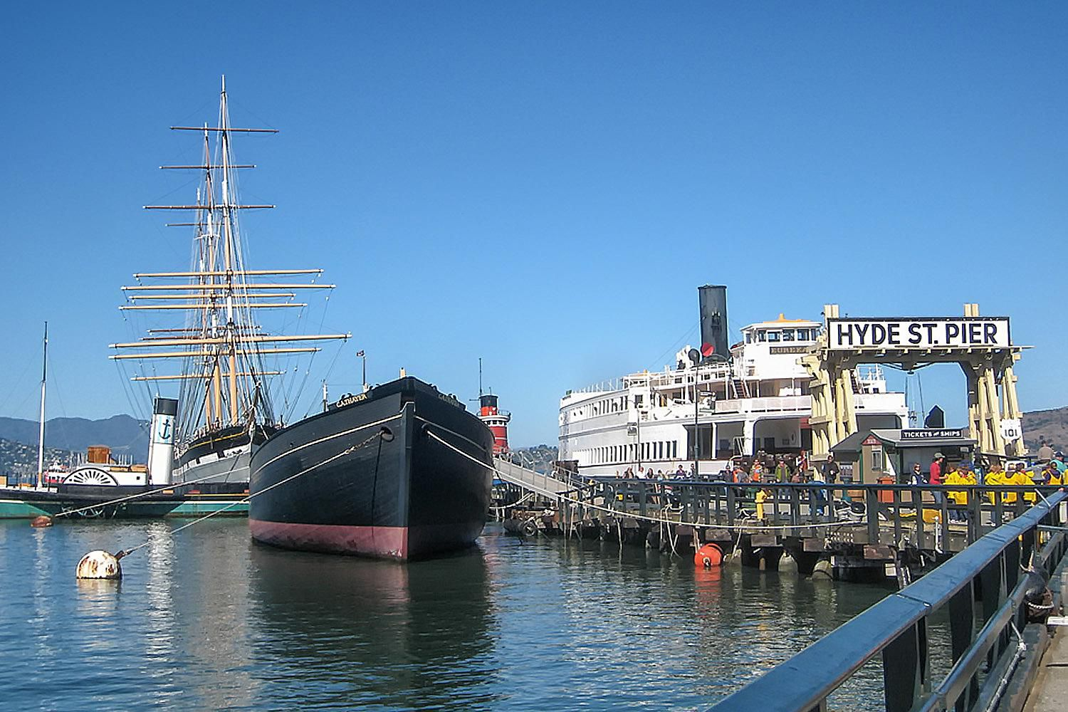 Fishermans Wharf In San Francisco California Photo Gallery Parts Of A Tall Ship For Pinterest