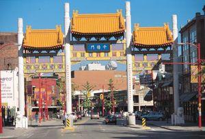 Vancouver Chinatown's Millennium Gate