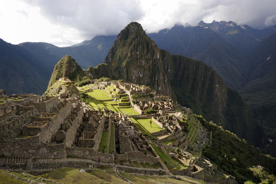 The lost Inca city of Machu Picchu