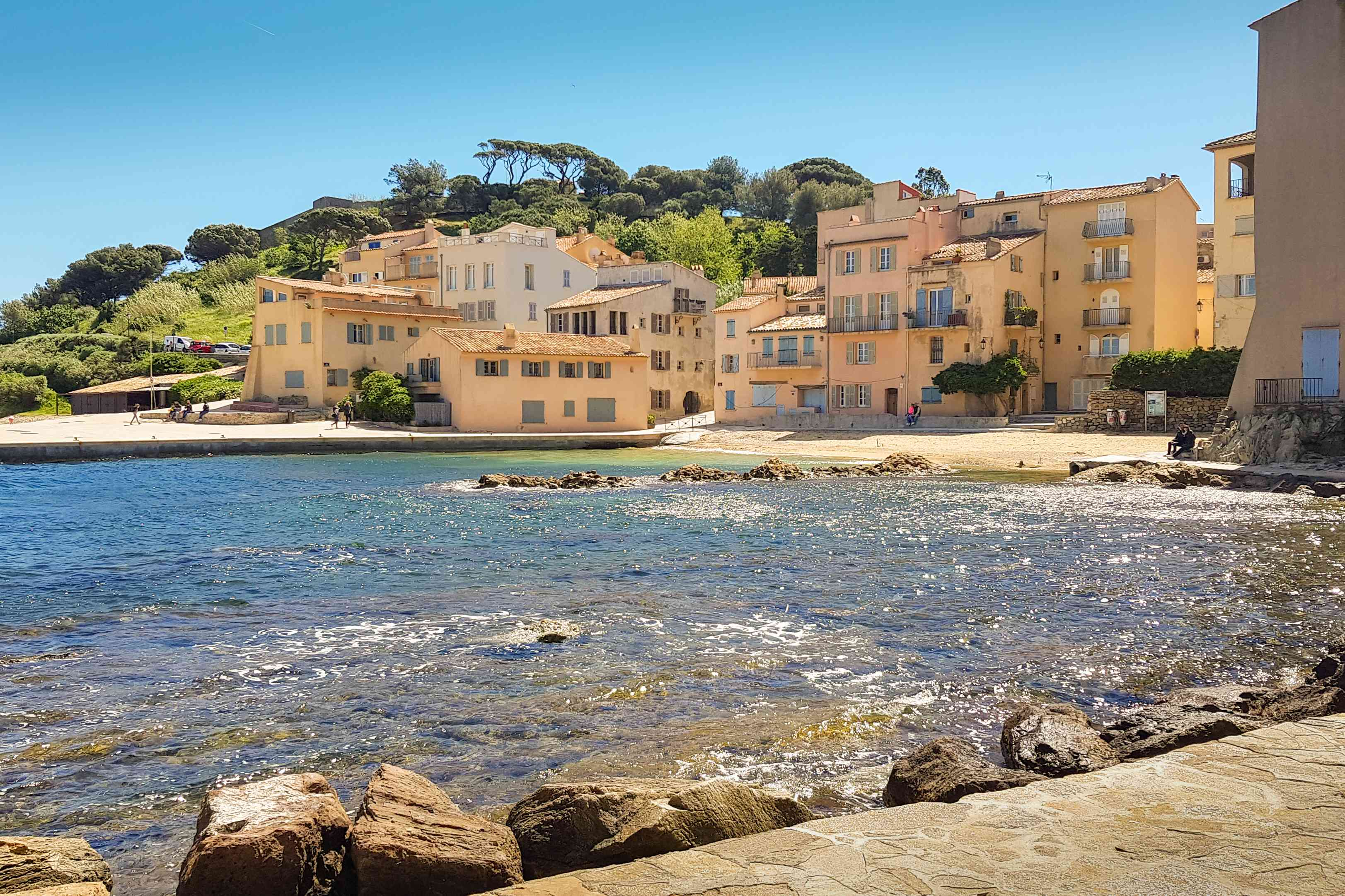 La Ponche, old fishing district in St-Tropez