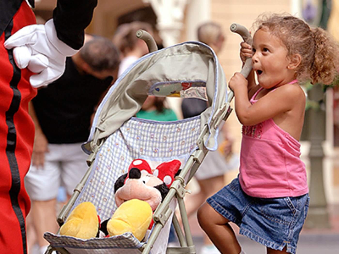 Disney World stroller