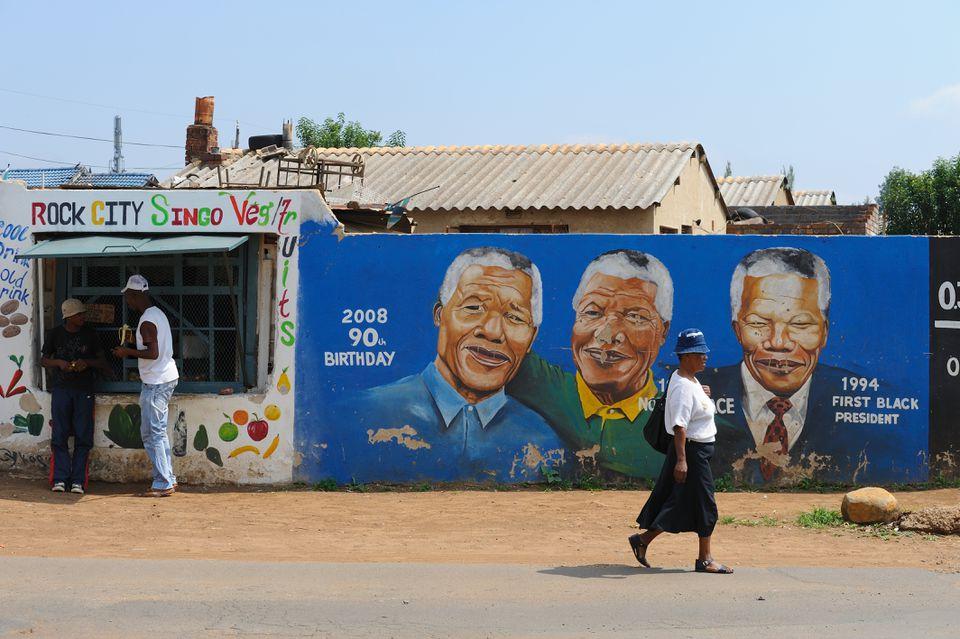 Mural in Soweto