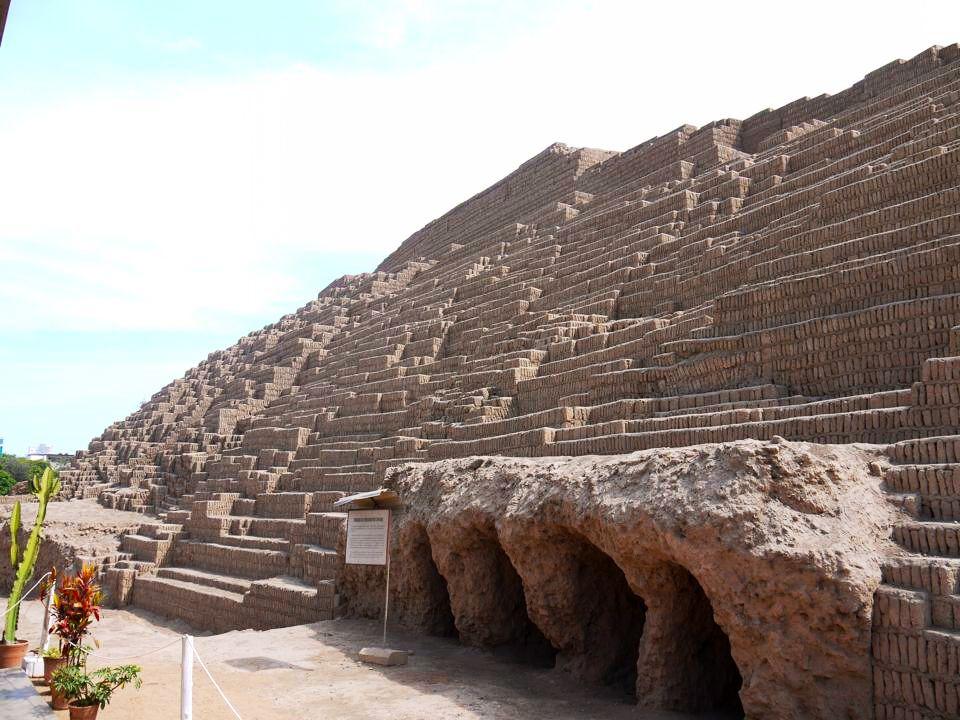 Ruinas antiguas en Lima
