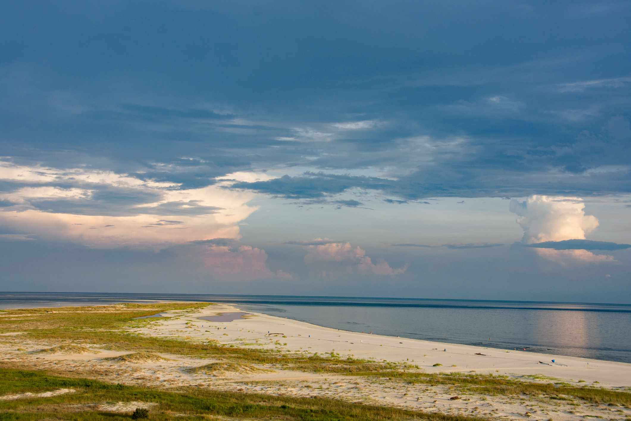 Sand Point and the Gulf