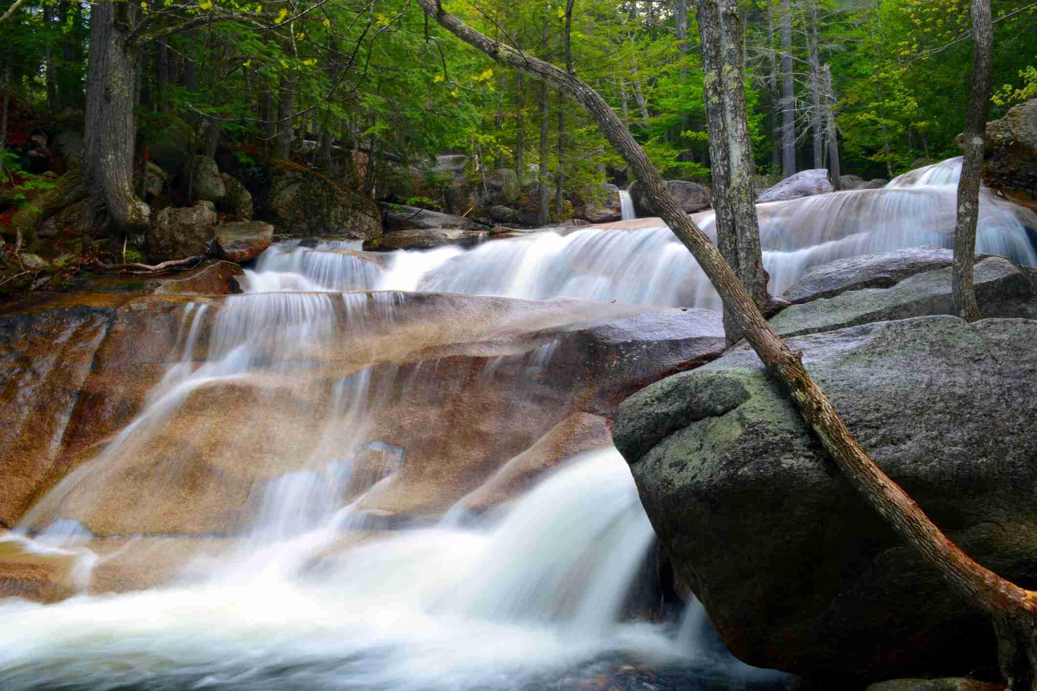 Diana's Bath waterfall New Hampshire