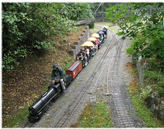 The Miniature Burnaby Central Railway Visitor's Guide