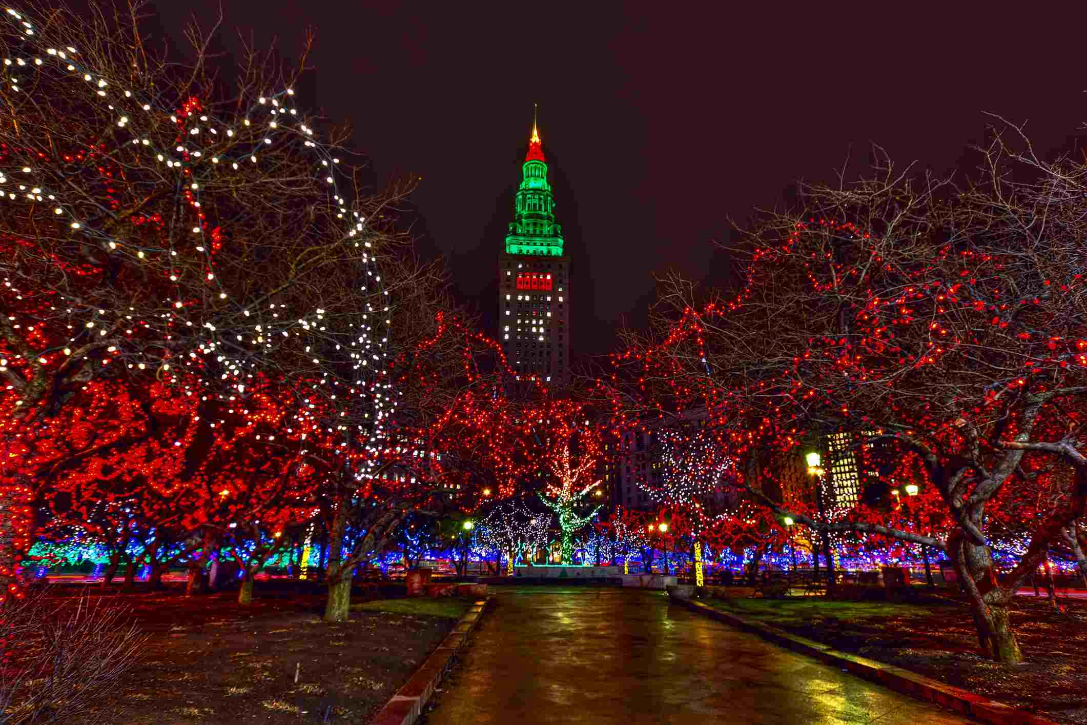 Blossom Music Center Christmas Lights 2019 Cleveland and Northeast Ohio Holiday Lights