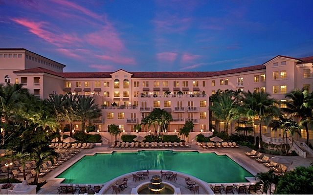 Turnberry Isle Miami is elegant and athletically inclined.
