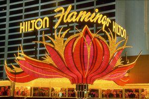 Neon Sign at the Flamingo Hilton, Las Vegas