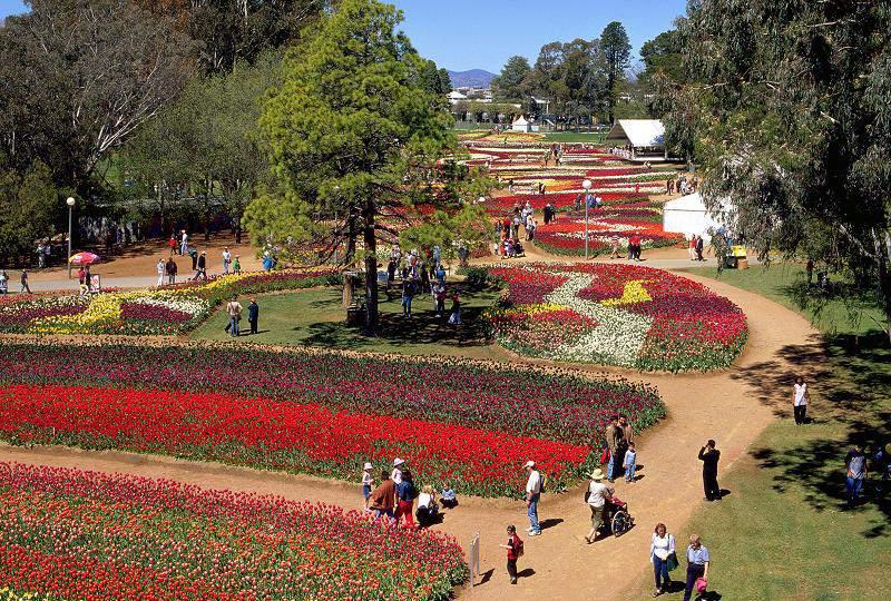 Canberra's Floriade © Australian Capital Tourism