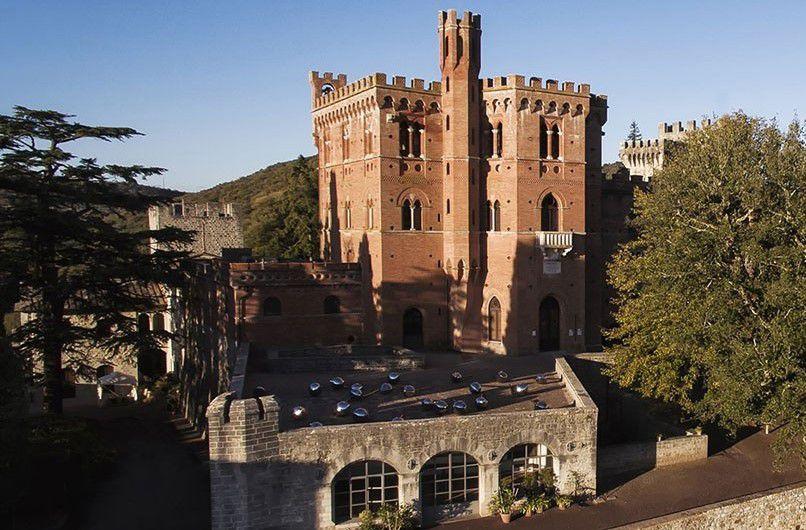 The castle at Barone Ricasoli winery
