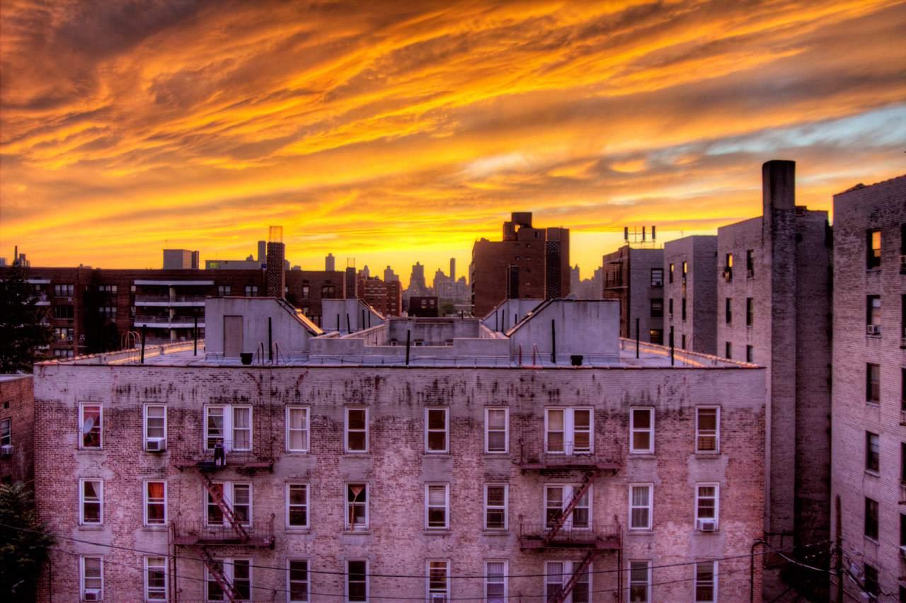 Astoria, Queens, vistas desde la azotea