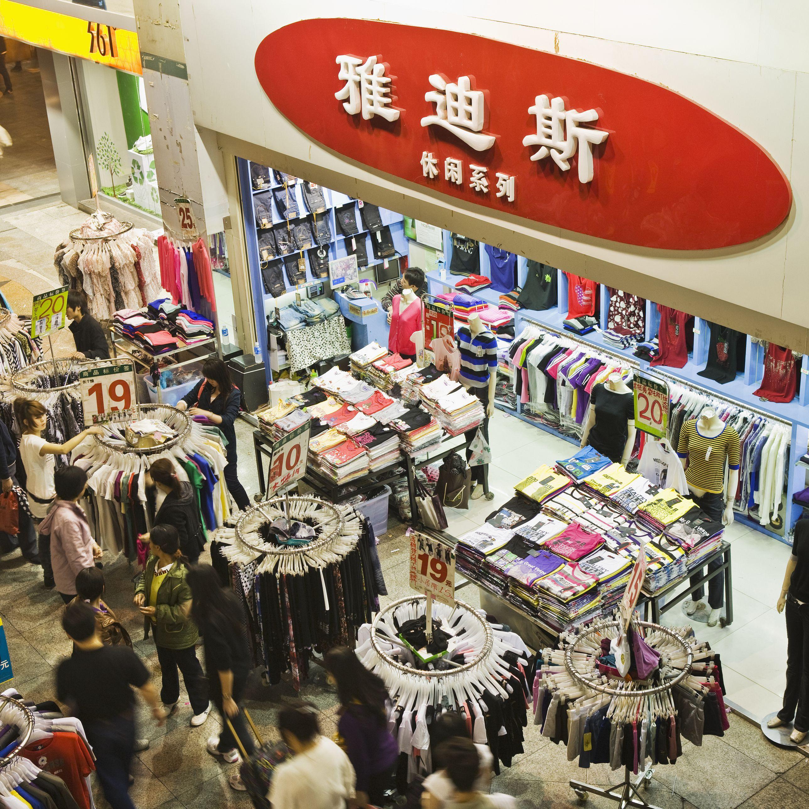 Shopping in Shenzhen From Hong Kong