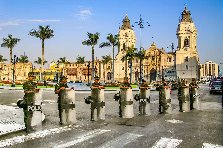 Peruvian police