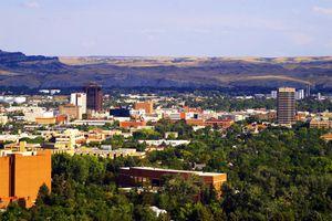 View of Billings Montana