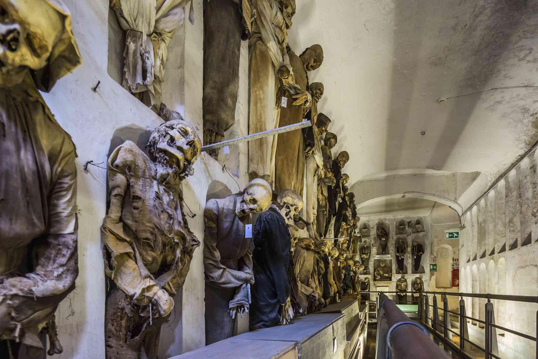 Convento (Monastery) dei Cappuccini, the Catacombe dei Cappuccini (Catacombs of the Capuchin Monks)