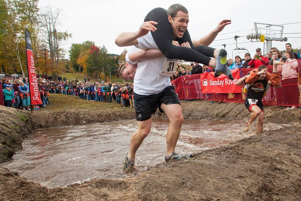 Wife Carrying Competition at Sunday River