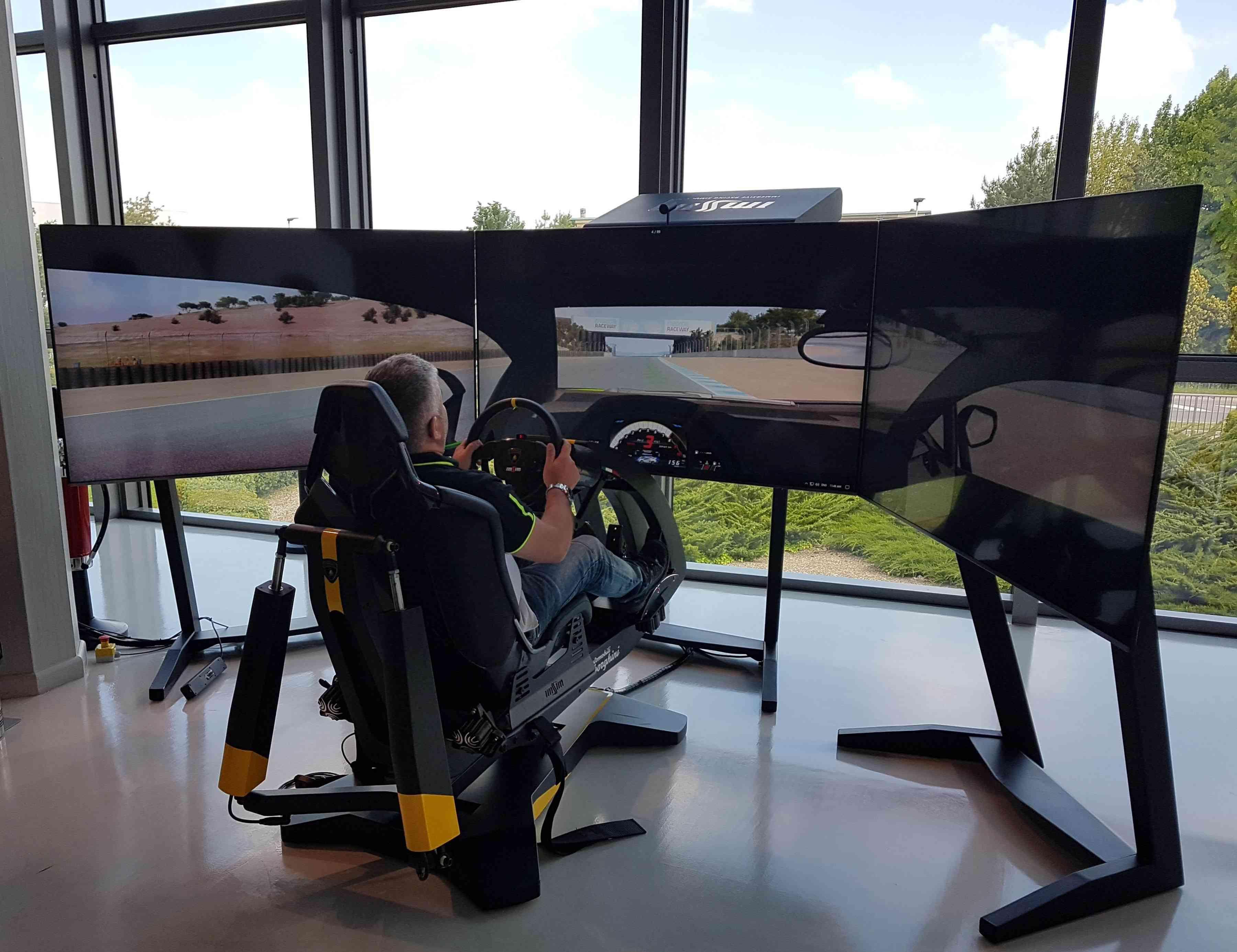 Lamborghini simulator