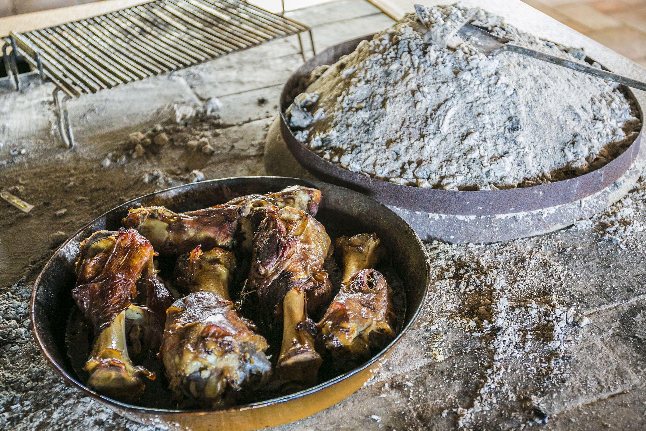 Peka, traditional dish of Dalmatia Region
