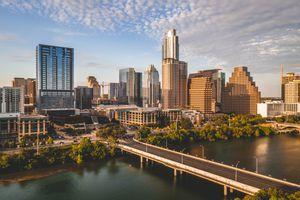 Austin City Limits Skyline