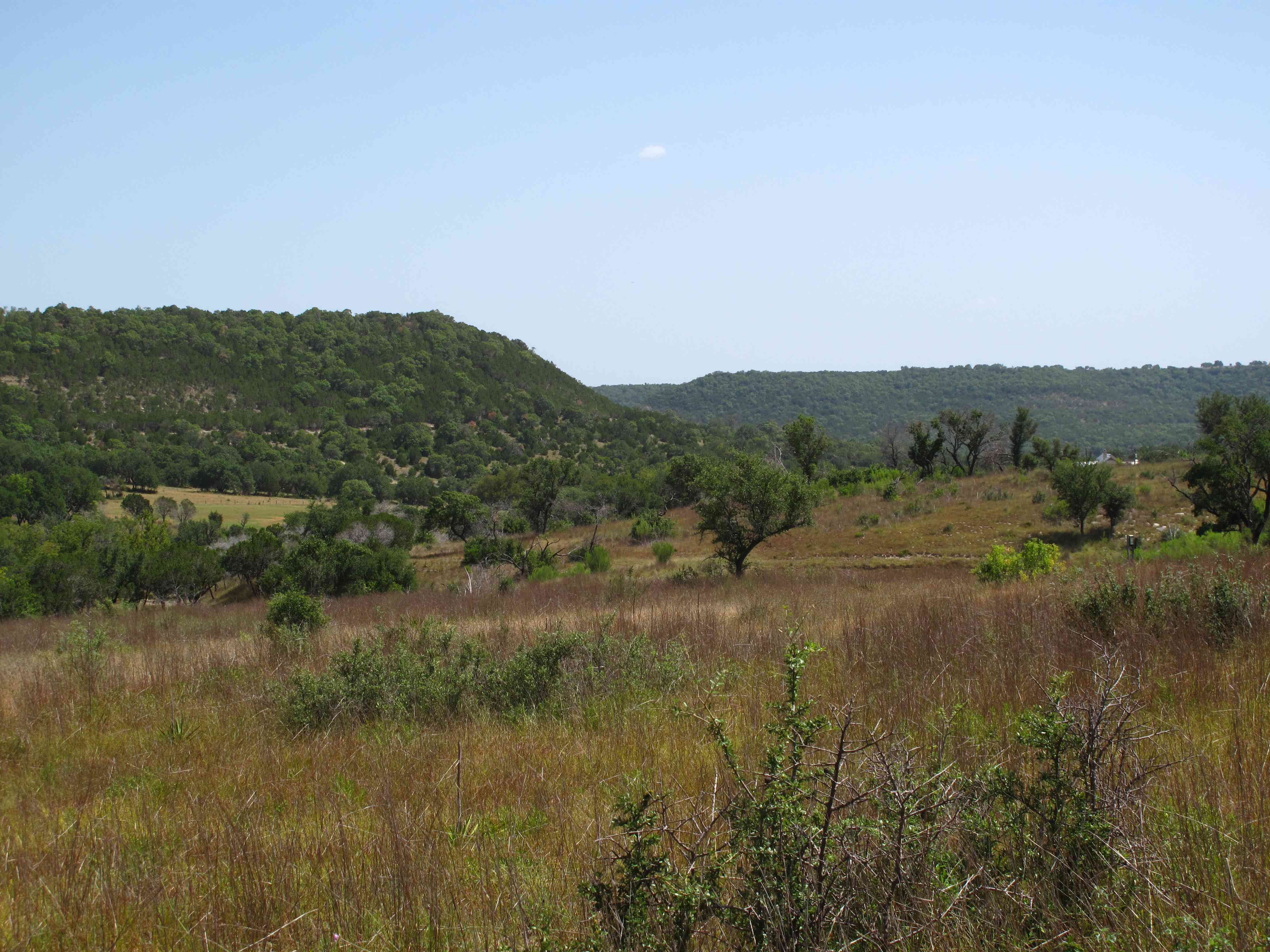 A view of the Balcones Canyonlands National Wildlife Refuge,