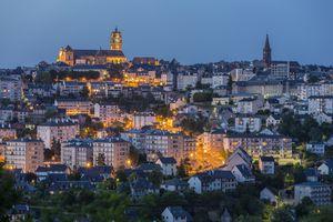 Rodez in Aveyron