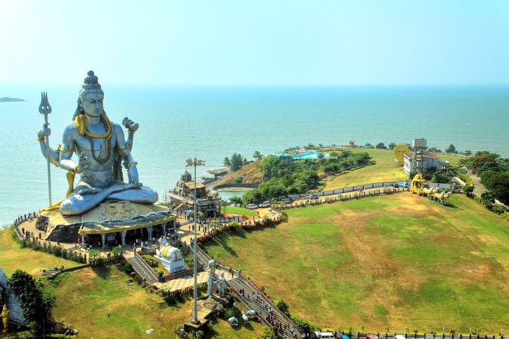Statue of Lord Shiva at Murudeshwar.