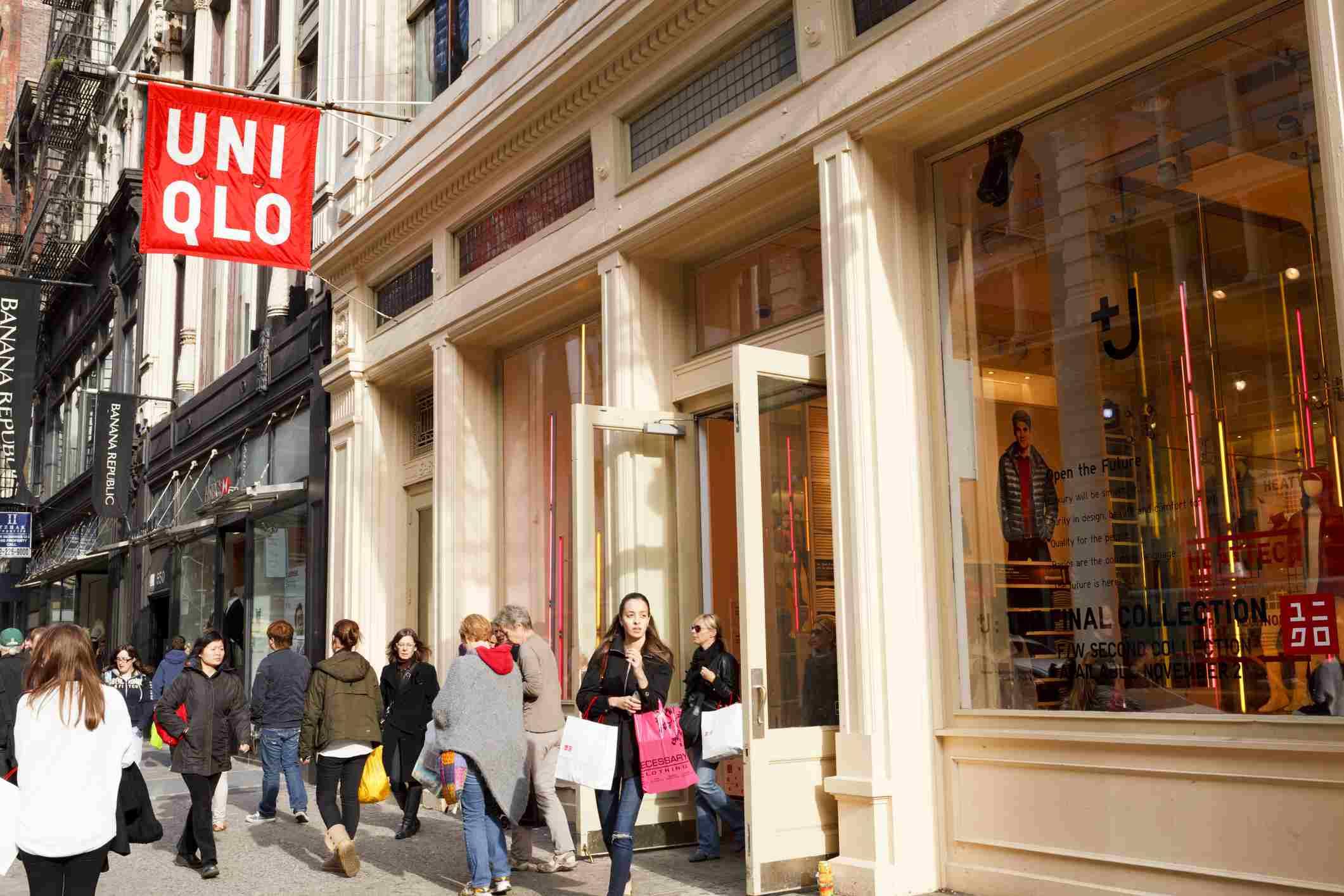 Uniqlo Store SoHo Manhattan