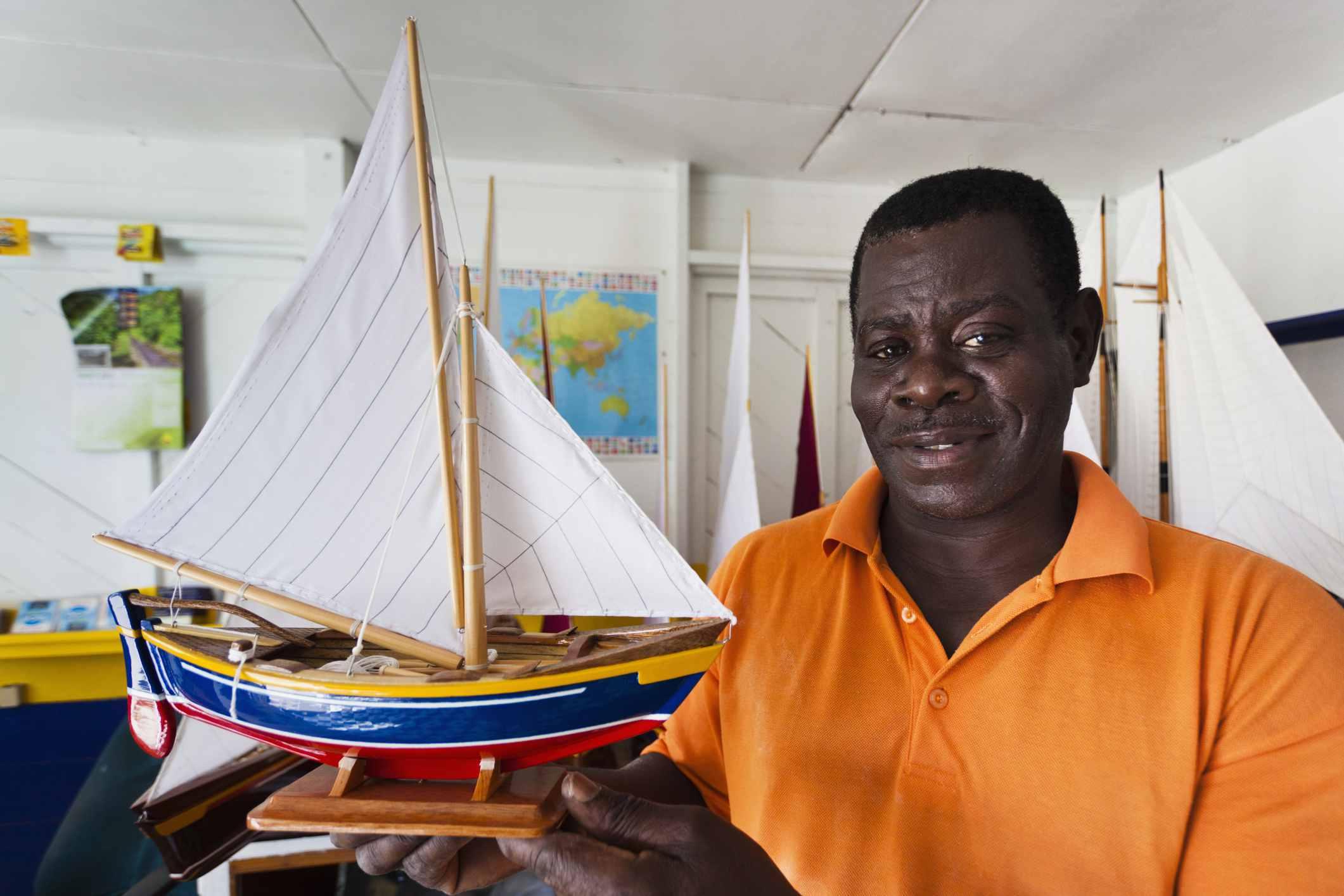 Mauvins Model Boat Shop, model maker