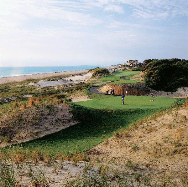 Oceanfront golf at Amelia Island Plantation.