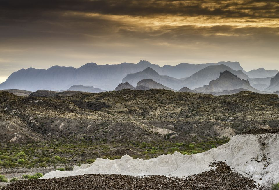 Big Bend National Park on the Texas border of Mexico