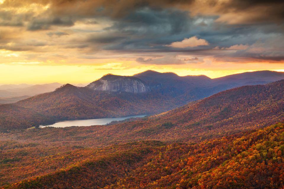 Table Rock Mountain, South Carolina, USA