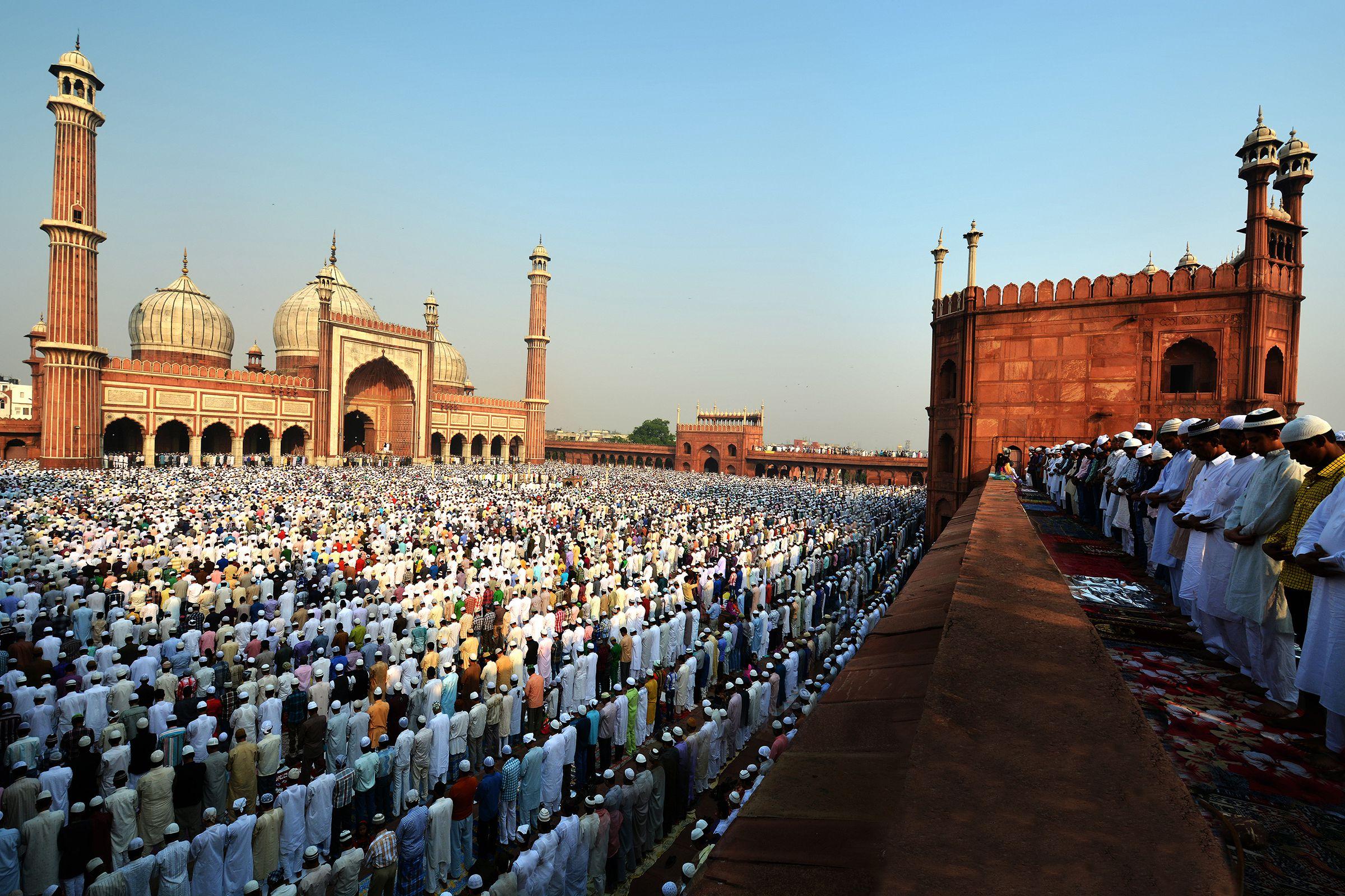 Eid Mubarak, Jama Masjid, India